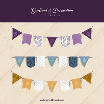 Decorative Bunting bunting vectors photos and psd files free