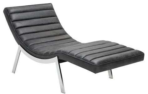 chaise black benedict profundo black leather chaise 100719 sunpan