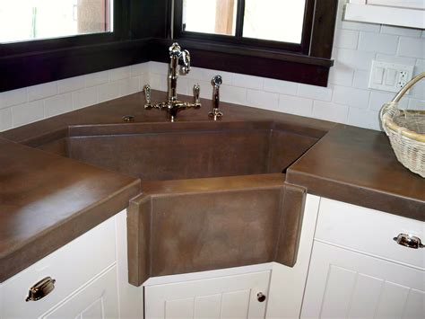 kitchen corner sinks concrete kitchen countertops and sinks phoenix az