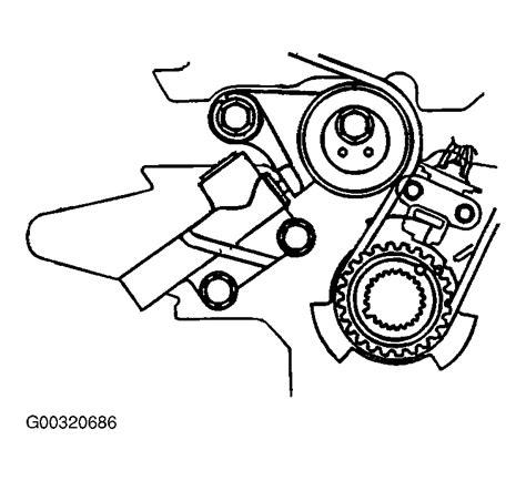 2004 Kia Timing Belt 2004 Kia Sedona Serpentine Belt Routing And Timing Belt