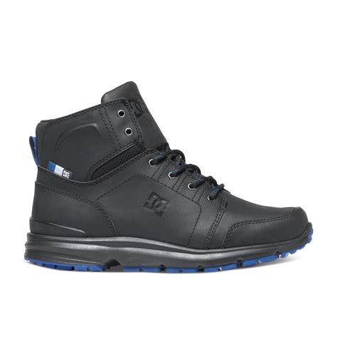 dc shoes for on sale dc shoes s torstein mountain boots colored black blue