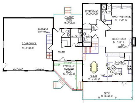 Split Level Home Floor Plans by 25 Genius Split Level Plan Architecture Plans 70687