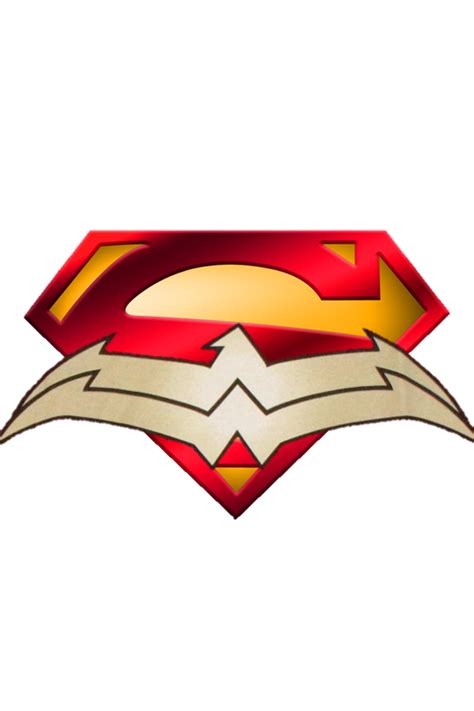 new 52 superman symbol and wonder woman symbol by
