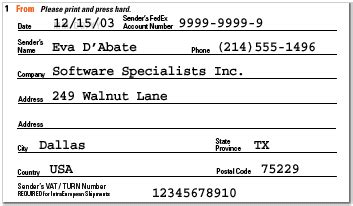 Fedex Help Desk Phone Number by Fedex Shipping Guide Air Waybill