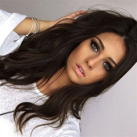 options for brunette greying hair best 25 dark hair ideas on pinterest long dark hair