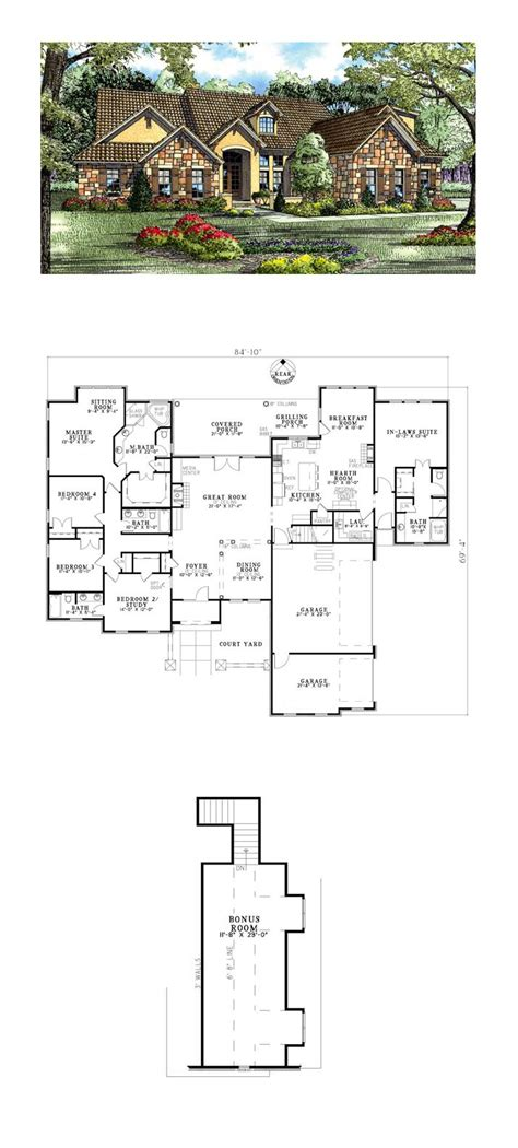 home plans with in suite home plans with inlaw suites design in