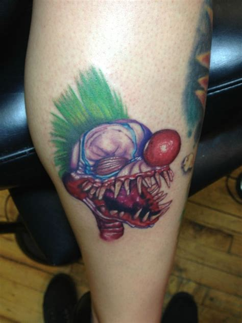 outer space tattoo 43 best killer klowns from outer space tattoos images on