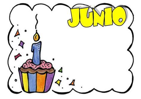 imagenes cumpleaños junio mis cosas de maestra carteles de cumplea 209 os