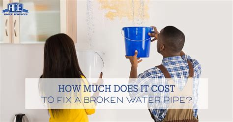 how much does it cost to fix a light how much does it cost to fix a broken water pipe ace