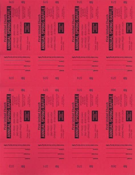 printable raffle tickets paper raffle ticket templates small raffle ticket paper