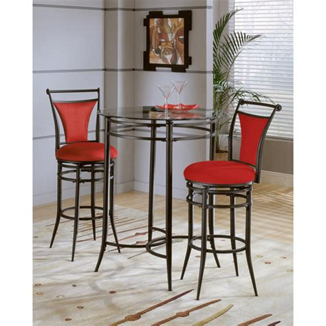 Pub Table And Chairs 3 Set by Cierra 3 Bistro Set Fabric Walmart