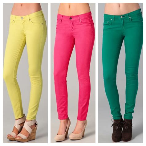 are colored skinny jeans in style 2015 colored pants for women with wonderful style in south
