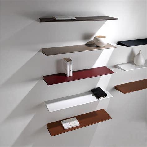 muro a mensola mensola design moderno in acciaio 60 cm o 90 cm ala
