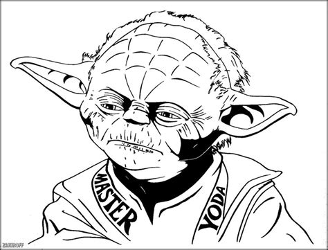yoda mask coloring page star wars yoda coloring pages at yescoloring lego star