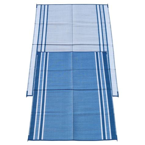 fireside patio mats hawaiian blue 6 ft x 9 ft