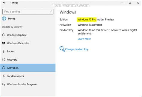 tutorial downgrade windows 10 downgrade windows 10 enterprise to windows 10 pro windows