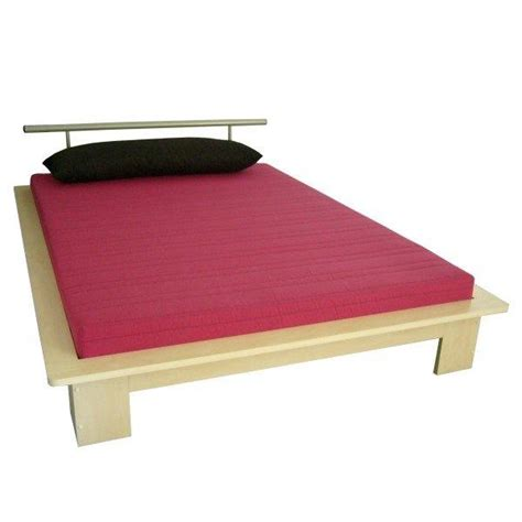 futonbett anja 140x220 cm inkl matratze rost und kissen