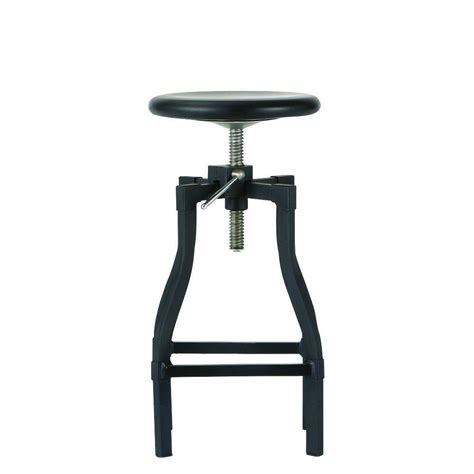home decorators collection bar stools home decorators collection turner adjustable height black