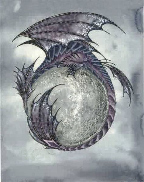 dragon moon tattoo 193 best images about on