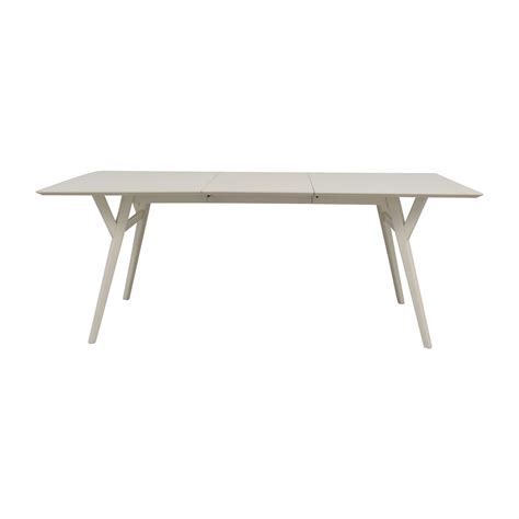mid century expandable dining table west elm 76 off west elm west elm terra dining table tables