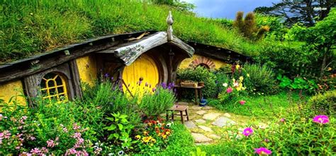 real hobbit house plans lord of the rings super fan builds his own real life hobbit house regarding real