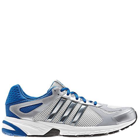 Adidas Duramo Silver Sepatu Sports Casua Running adidas s performance duramo 5 running shoes running white metallic silver mens footwear