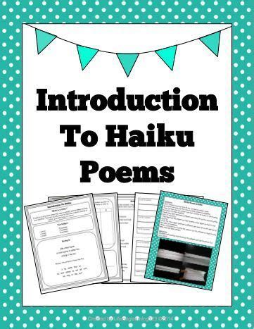 introducing pattern to kindergarten introduction to haiku poems a well activities and student