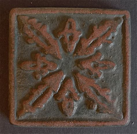 Handcraft Tile - handcraft quatrefoil tile