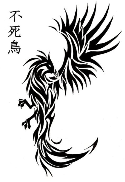 phoenix kanji tattoo phoenix tatoo by bleckhart on deviantart