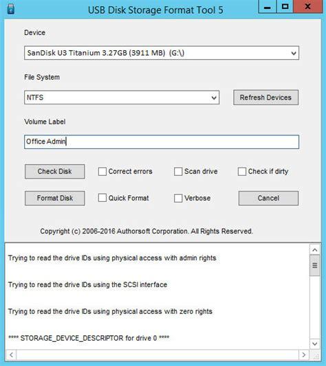 format lacie exfat usb disk storage format tool 6 0 download pobierz za darmo