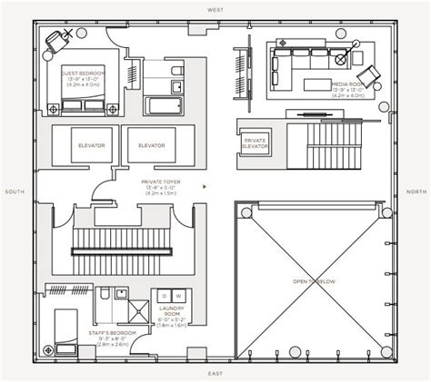 one madison floor plans rupert murdoch one madison luxury penthouse 23 east 22