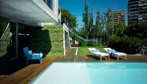 imagenes jardines con piscina modelos de dise 241 os paisajistas con piscina 75 ideas