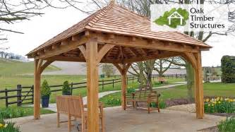 Hip Roof Shape Solid Oak Gazebos Oak Timber Structures