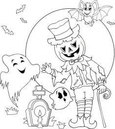 Coloriage Une Sc 232 Ne D Halloween Dory Fr Coloriages