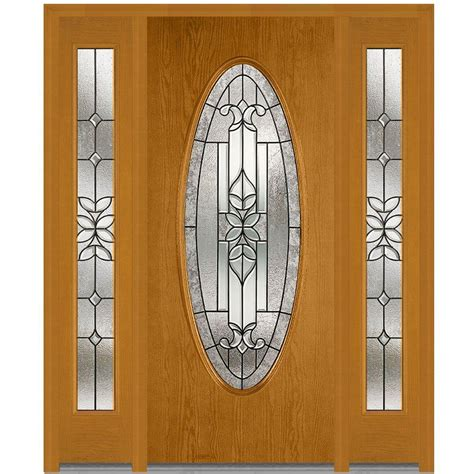 Oval Glass Front Entry Door Milliken Millwork 68 5 In X 81 75 In Cadence Decorative