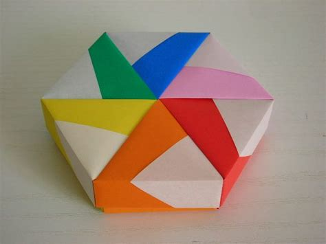 Hexagonal Origami Box - 25 unique hexagon box ideas on stage