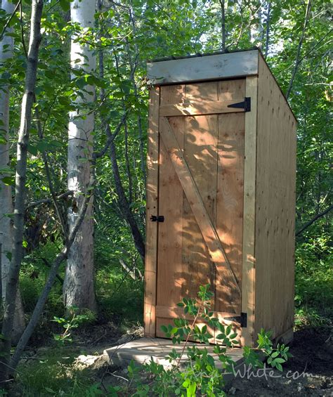 plans to build a house ana white simple outhouse diy projects