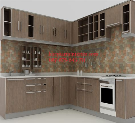 Kitchen Set Multiplek Hpl kitchen set hpl minimalis karya arta interior