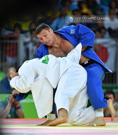 Gamis Gie georgian judoka wins silver medal at olympic