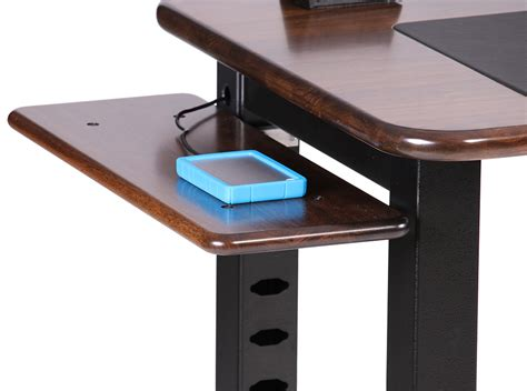 Small Desk Shelf Small Shelf For Loft Desk Walnut Caretta Workspace