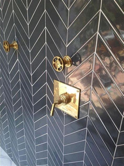 Best Plumbing Tile And by Best 25 Chevron Tile Ideas On