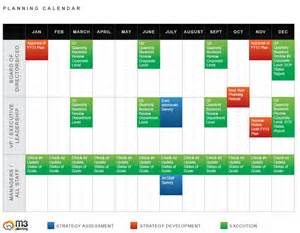 Calendar Planning Template by What Is Included In A Strategic Planning Template