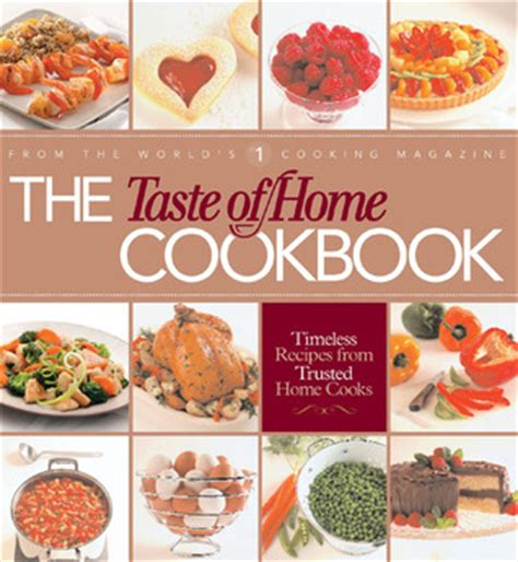 the taste of home cookbook by janet briggs reviews