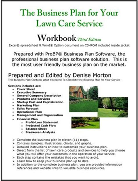 landscaping business plan template best 25 lawn care business ideas on lawn
