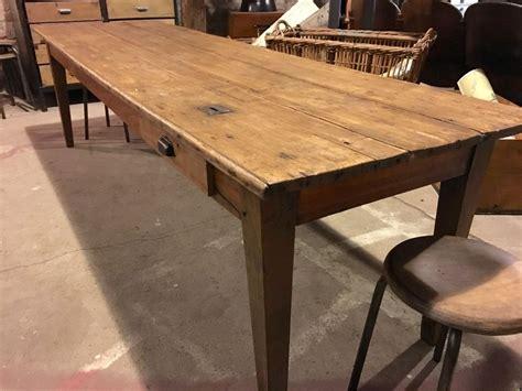 table de en bois ancienne grande table d 233 glise en bois lequai pro