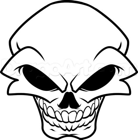 drawing for beginners how to draw a skull for beginners step by step skulls