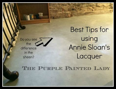 chalk paint questions sloan lacquer application tips by the purple painted