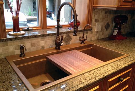 kitchen faucets for granite countertops five inc countertops modern sink designs to