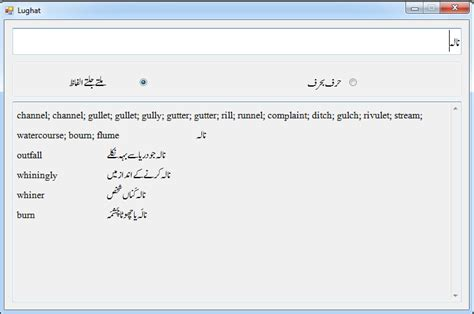 pattern meaning in urdu dictionary urdu to english dictionary linguistics learner