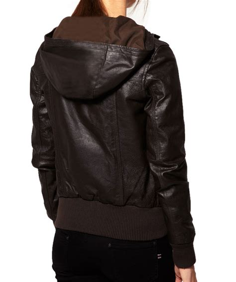 light leather jacket womens womens brown color leather jacket hooded leather jacket
